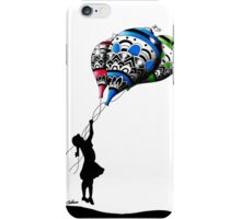 girl and her ballons iPhone Case/Skin