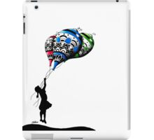 girl and her ballons iPad Case/Skin