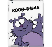 Eek the Cat - Koom-Bye-Ya - Black Font iPad Case/Skin