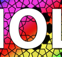 holi festival of color and spring Sticker