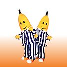Bananas in Pajamas - B1 and B2 - Tablet & Phone Cases by DGArt
