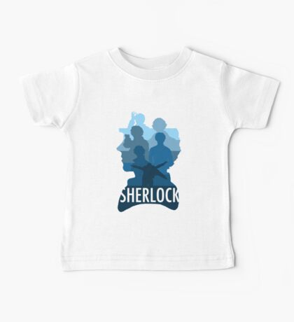Sherlock ~  A Study to the Fall Baby Tee