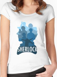 Sherlock ~  A Study to the Fall Women's Fitted Scoop T-Shirt
