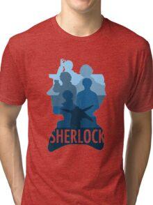 Sherlock ~  A Study to the Fall Tri-blend T-Shirt