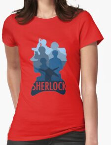 Sherlock ~  A Study to the Fall Womens Fitted T-Shirt