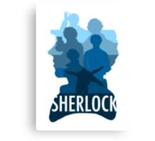 Sherlock ~  A Study to the Fall Canvas Print