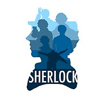 Sherlock ~  A Study to the Fall Photographic Print