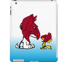 Battle Dog and Battle Bird iPad Case/Skin