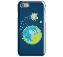 Spaceflower Show iPhone Case/Skin