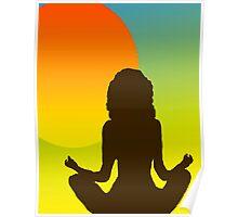 Sunrise Yoga Poster