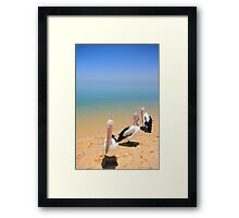 Mia Locals Framed Print
