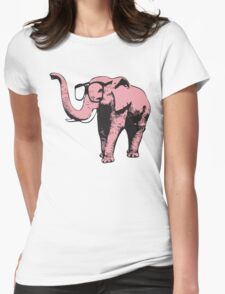 Pink Elephant With Sunglasses T-Shirt