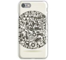 Industry a sphere iPhone Case/Skin