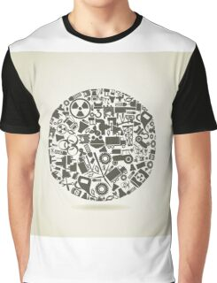Industry a sphere Graphic T-Shirt