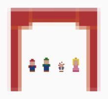 Minimalist Super Mario Bros 2 Kids Clothes