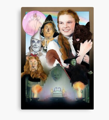 Wizard of Oz Poster Canvas Print