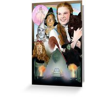 Wizard of Oz Poster Greeting Card