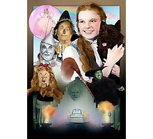 Wizard of Oz Poster Photographic Print
