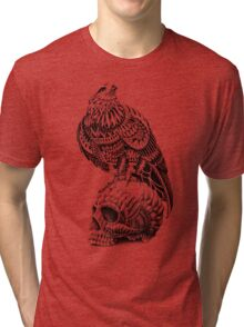 Red-Tail Skull Tri-blend T-Shirt
