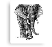 Ornate Elephant v.2 Canvas Print