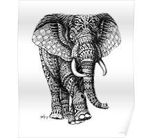 Ornate Elephant v.2 Poster