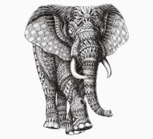 Ornate Elephant v.2 One Piece - Short Sleeve