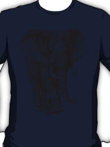 Ornate Elephant v.2 T-Shirt