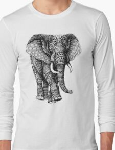 Ornate Elephant v.2 Long Sleeve T-Shirt