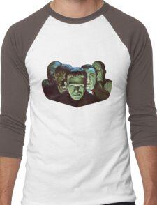 Gang of Monsters  Men's Baseball ¾ T-Shirt
