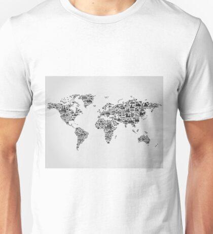 Transport map Unisex T-Shirt