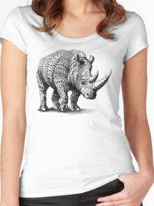 Rhinoceros Women's Fitted Scoop T-Shirt