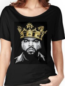 ICE CUBE KING  Women's Relaxed Fit T-Shirt
