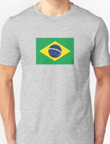 Brazilian Love Flag Unisex T-Shirt