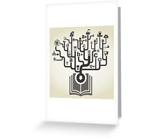 Industry the book Greeting Card