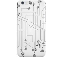 Industry the scheme iPhone Case/Skin