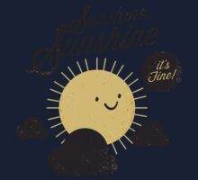 Sunshine It's Fine Kids Tee