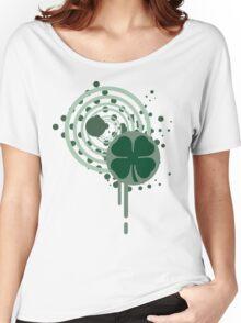 hi-fi four leaf clover  Women's Relaxed Fit T-Shirt