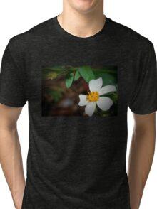 Dewdrop on wildflower Tri-blend T-Shirt