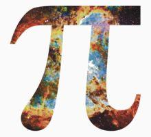 Pi Symbol 3.14 [Heart and Soul Nebula] | Mathematix by SirDouglasFresh