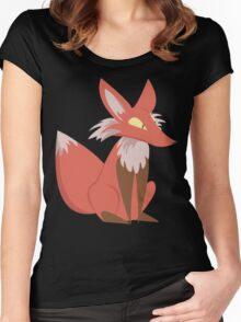 Ren the Red Fox Women's Fitted Scoop T-Shirt