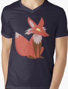 Ren the Red Fox Mens V-Neck T-Shirt