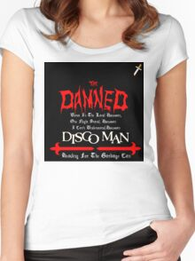 The Damned Disco Man Women's Fitted Scoop T-Shirt