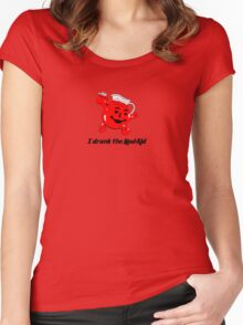 I drank the Kool_aid Women's Fitted Scoop T-Shirt