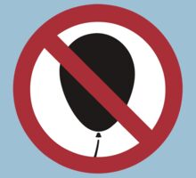 NO Balloon Sign by iloveisaan