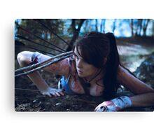 Duchess Sakura Cosplay - Definitive Lara Croft Canvas Print