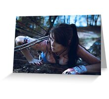 Duchess Sakura Cosplay - Definitive Lara Croft Greeting Card