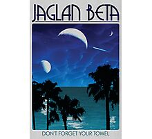 Jaglan Beta Travel Poster Photographic Print