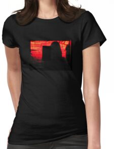 Behind The Facade Womens Fitted T-Shirt