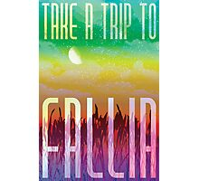 Fallia Travel Poster Photographic Print