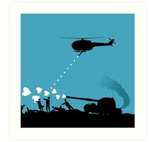 Love army Art Print